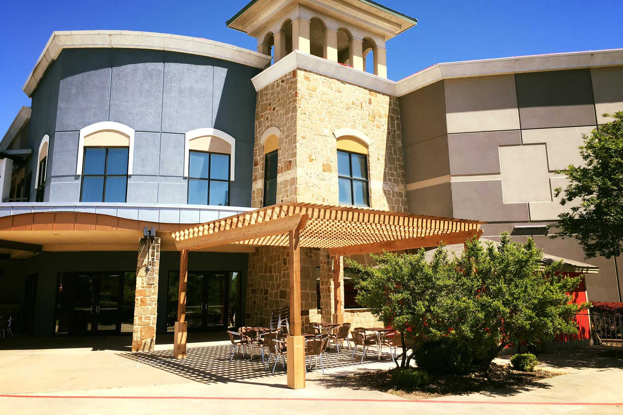 commercial pergola in austin tx
